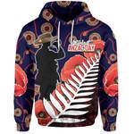 Lest We Forget Hoodie Mix Aboriginal Patterns