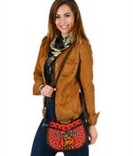 Anzac Lest We Forget Poppy Saddle Bag New Zealand Maori Silver Fern - Australia Aboriginal K8