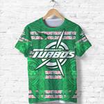 Manawatu Turbos T Shirt Maori Vibes K8