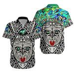 Integrity Maori Ta Moko Hawaiian Shirt Kiwi and Paua |1st New Zealand