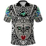 Integrity Maori Ta Moko Polo Shirt Kiwi and Paua |1st New Zealand