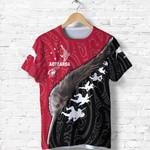 Aotearoa Black Maori T Shirt Kiwi and Haka New Zealand | Love New Zeland
