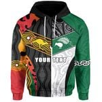 (Custom Personalised) Australia Indigenous and New Zealand Maori Hoodie Proud Front | New Zealand