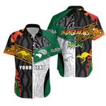 (Custom Personalised) Australia Indigenous and New Zealand Maori Hawaii Shirt Proud   New Zealand