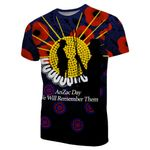 Anzac Day T-Shirt We Will Remember Them