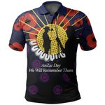 Anzac Day Polo Shirt We Will Remember Them