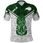 New Zealand Maori Rugby Polo Shirt Pride Version - White K8