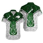 New Zealand Maori Rugby Hawaiian Shirt Pride Version - White K8