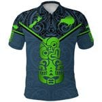 New Zealand Maori Rugby Polo Shirt Pride Version - Navy K8
