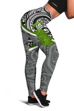 New Zealand Maori Rugby Women Leggings Pride Version - Gray
