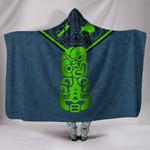 New Zealand Maori Rugby Hooded Blanket Pride Version - Navy