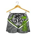New Zealand Maori Rugby Women Shorts Pride Version - Gray