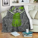 New Zealand Maori Rugby Premium Blanket Pride Version - Gray