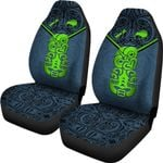 New Zealand Maori Rugby Car Seat Covers Pride Version - Navy