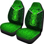New Zealand Maori Rugby Car Seat Covers Pride Version - Green