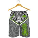 New Zealand Maori Rugby Men's Shorts Pride Version - Gray