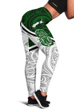 New Zealand Maori Rugby Women Leggings Pride Version - White