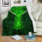 New Zealand Maori Rugby Premium Blanket Pride Version - Green
