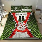 Anzac Day Bedding Set, New Zealand Lest We Forget TH12
