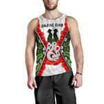 Anzac Day Men's Tank Top, New Zealand Lest We Forget | Love New Zealand
