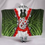Anzac Day Hooded Blanket, New Zealand Lest We Forget | Love New Zealand