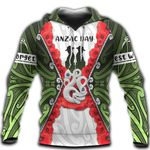 Anzac Day Hoodie, New Zealand Lest We Forget TH12