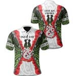 Anzac Day Polo Shirt, New Zealand Lest We Forget TH12