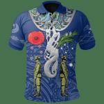 Anzac Day Polo Shirt, New Zealand And Australia   Lovenewzealand.co