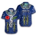 Anzac Day Hawaiian Shirt New Zealand And Australia | Lovenewzealand.co