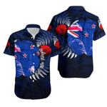 New Zealand Hawaiian Shirt Anzac Day Army Patterns