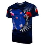 New Zealand T-Shirt Anzac Day Army Patterns