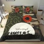 Anzac Maori Bedding Set Lest For Get