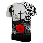 New Zealand T-Shirt Anzac Day Maori Patterns