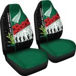 Anzac Day - Lest We Forget Car Seat Covers Australia Indigenous and New Zealand Maori | 1st New Zealand