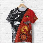 Anzac Day Poppy T Shirt New Zealand And Australia Lest We Forget K8