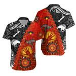 Anzac Day Poppy Hawaiian Shirt New Zealand And Australia Lest We Forget K8