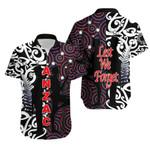 New Zealand Hawaiian Shirt Anzac Day Maori Mix Aboriginal