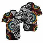 Aotearoa and Australia Hawaiian Shirt Fern Maori vs Aboriginal TH6