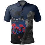 New Zealand Polo Shirt Anzac Day Rememberance