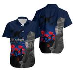 New Zealand Hawaiian Shirt Anzac Day Rememberance