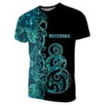 (Custom Personalised)Aotearoa Pikorua T-Shirt Half Papua Shell Style
