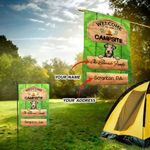Airedale Terrier Welcome Custom Camping Flag 17 L1PTHH0002