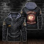 HOODED LEATHER JACKET – LIMITED EDITION-5901A