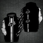 LIMITED EDITION- 3D HOODIE – 9106TH