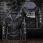 HOODED LEATHER JACKET LIMITED EDITION-5862A