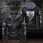 HOODED LEATHER JACKET – LIMITED EDITION-5807A