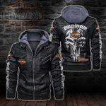HOODED LEATHER JACKET – LIMITED EDITION-5812A