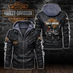 HOODED LEATHER JACKET – LIMITED EDITION-8270A