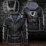 HOODED LEATHER JACKET – LIMITED EDITION-8274A