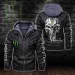HOODED LEATHER JACKET – LIMITED EDITION-5811A
